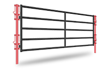 Diamond Ranch Series Fence Line Gate ANG