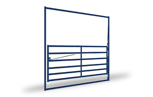 Rustler-HD High Pole Gates ANGLED - Webs