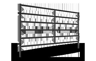 400, 500, 600 Series Arena Panels ANGLED