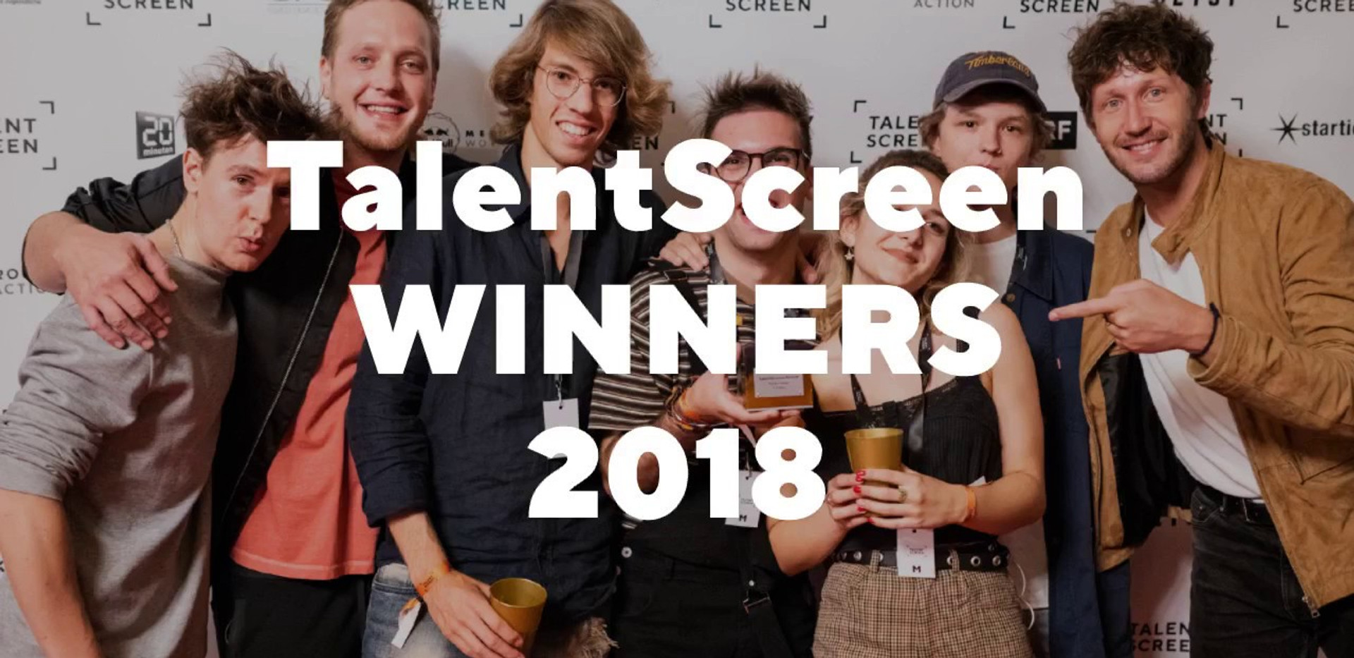 TalentScreen Winners 2018