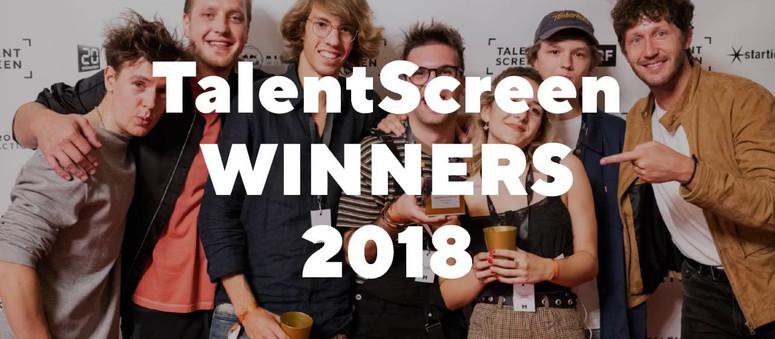 TalentScreen Winners 2018