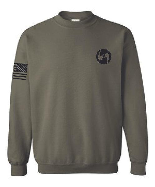 Army Green POWERWORKS Sweatshirt