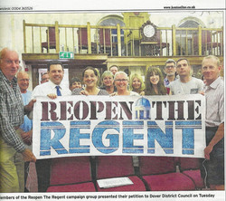 Reopen the Regent at Scrutiny