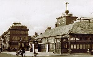 The old Pavilion building in Deal, Kent