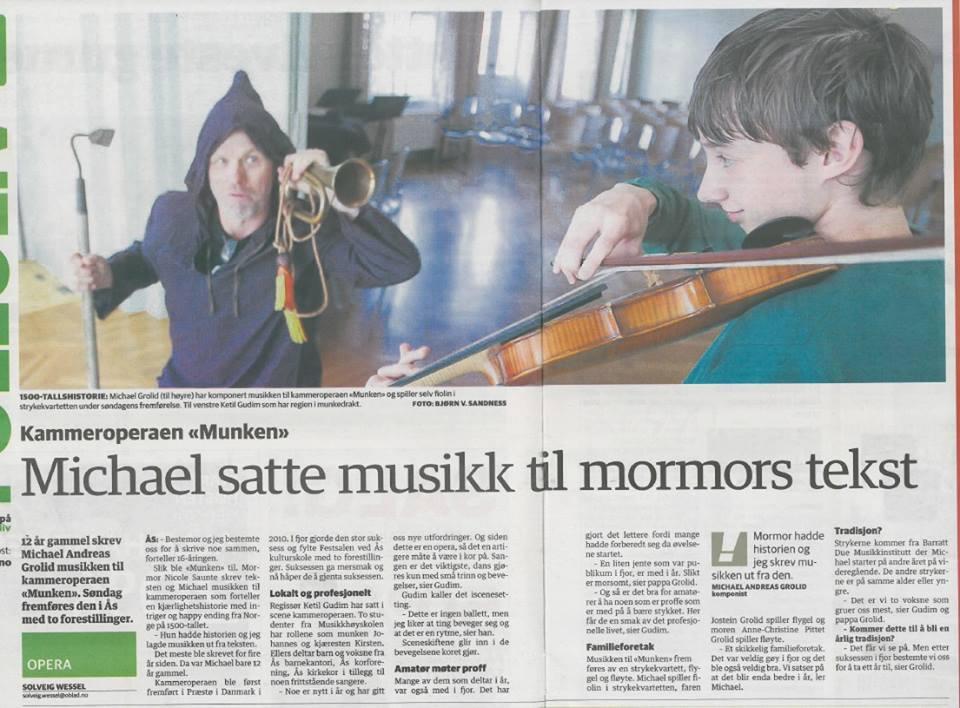 Kammeropera ved Ås MusikkArena