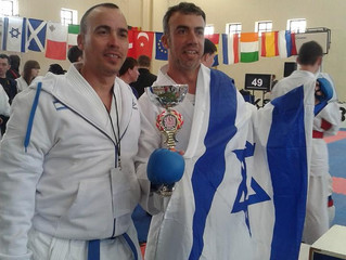 לירן אטיאס - סגן אלוף אירופה