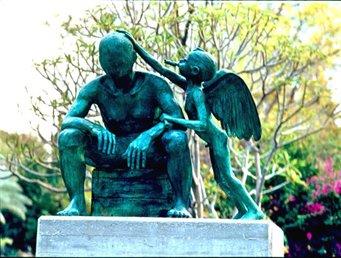 פסלו של אסף ליפשיץ