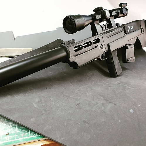 VKS Sniper Ghost Rifle mix Foam3D Replica