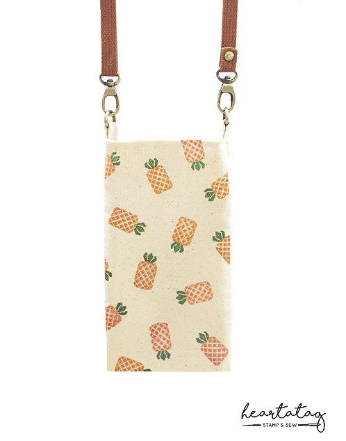 Pineapples Gaigai Sling Pouch