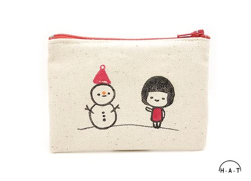 Meimei meets Snowman