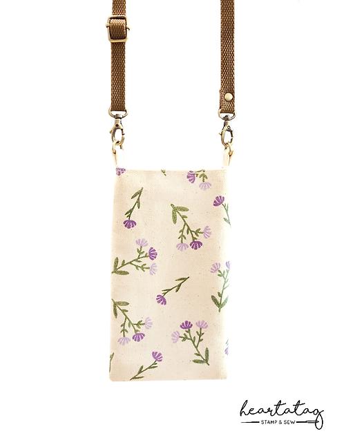 Wild Flowers (Purple) Gaigai Sling Pouch