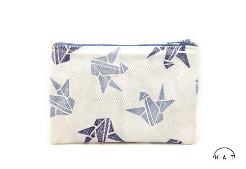 Blue Paper Cranes