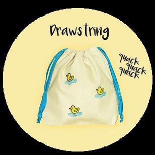 handmade drawstring pouches