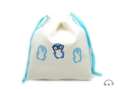 Mr. Geeky Penguin & Co. (Blue)