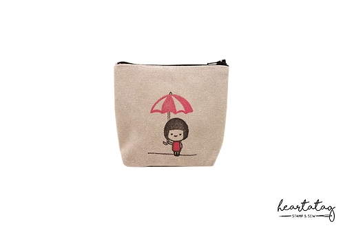 Meimei's Red Umbrella