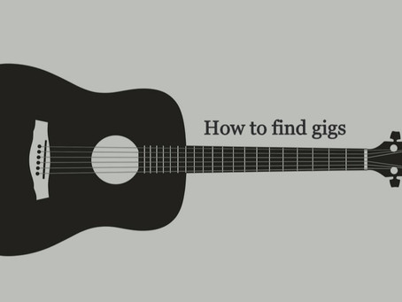 HOW TO FIND GIGS IN LOCAL BARS AND PUBS