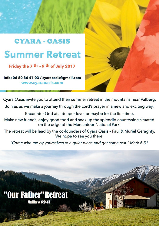 Cyara-Oasis Retreat July 2017