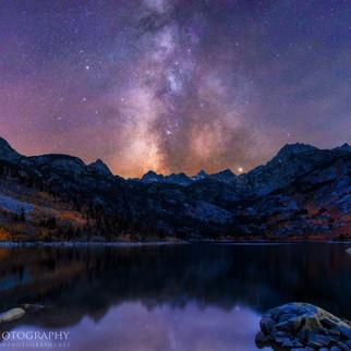 Milky Way Over Lake Sabrina