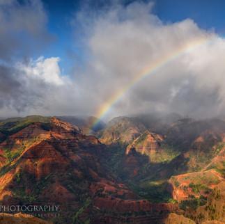 Waimea Canyon Rainbow Jeremy Johnson