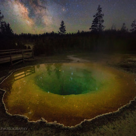 Morning Glory Pool Milky Way 2