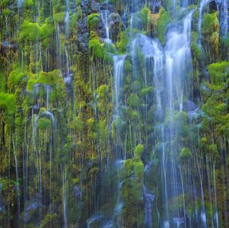 Mossbrae Falls Detail
