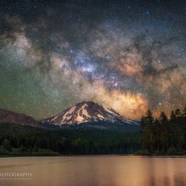 Milky Way over Mt. Lassen