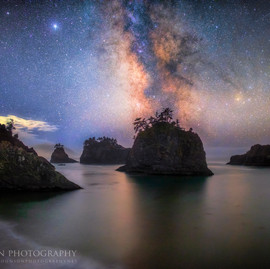Secret Beach Milky Way