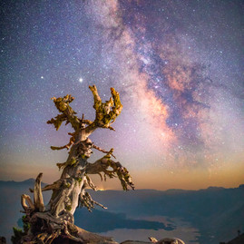Crater Lake Milky Way