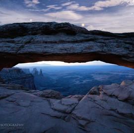 Mesa Arch Under Stars