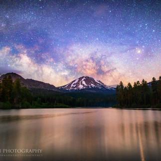 Milky Way over Mt. Lassen 1