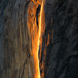 Yosemite Fire Falls 2017