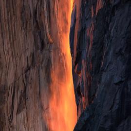Horsetail Falls Detail