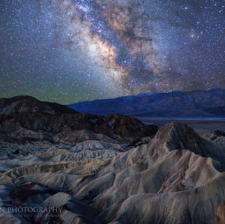 Milky Way and Death Valley
