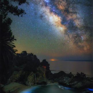 Mcway Falls Under Stars