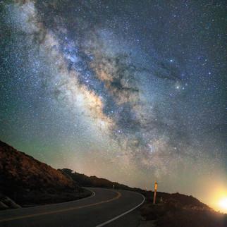 Highway 1 Milky Way