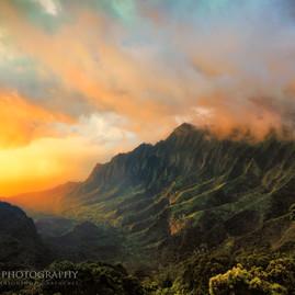 Kauai Clearing Storm