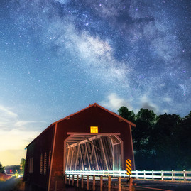 Shimanek Bridge Milky Way