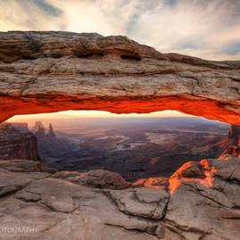 Mesa Arch Burn