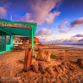 Crystal Cove Blue Shack