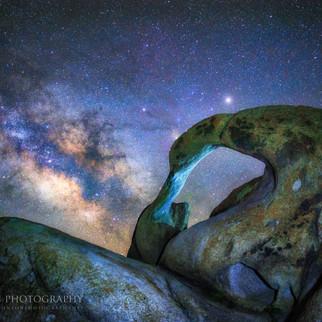 Mobius Arch Milky Way