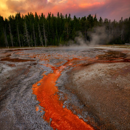 Yellowstone Lava Creek