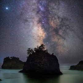 Oregon Coast Milky Way