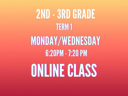 2nd & 3rd Grade ONLINE ONLY TERM 1