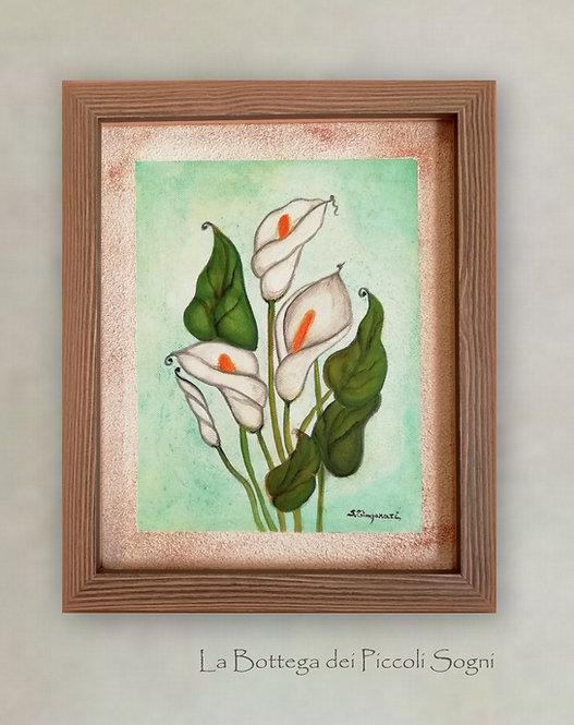 Dipinto su tela   Calle - Arte Moderna D30