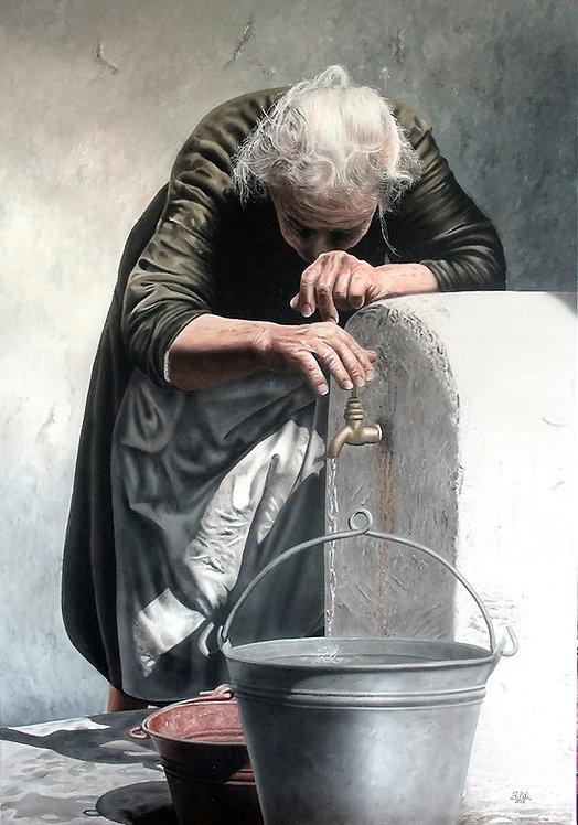 SHE, THE POWER, THE LIFE | Dipinto originale di Ivan Pili