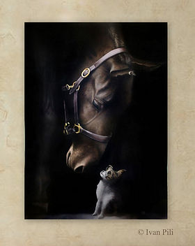 1-Animal stories #3 (2017) Oil painting