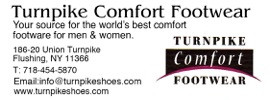 Turnpike Comfort Footwear Classified Web