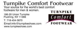 Turnpike Comfort Footwear Classified Web