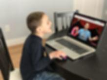 2020 Boy Online watching WOW workshop Sc