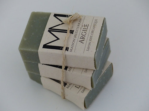 Trio of Surgras Soap with Green Clay 3 X100 g